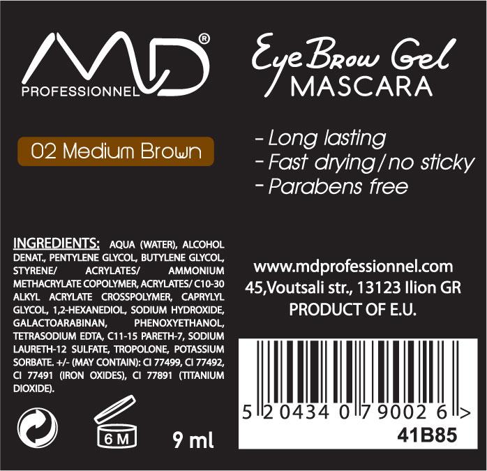 Multistick Ετικέτες Καλλυντικών Mascara