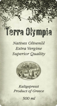 Ετικέτα λαδιού - Terra Olympia - Multistick labels
