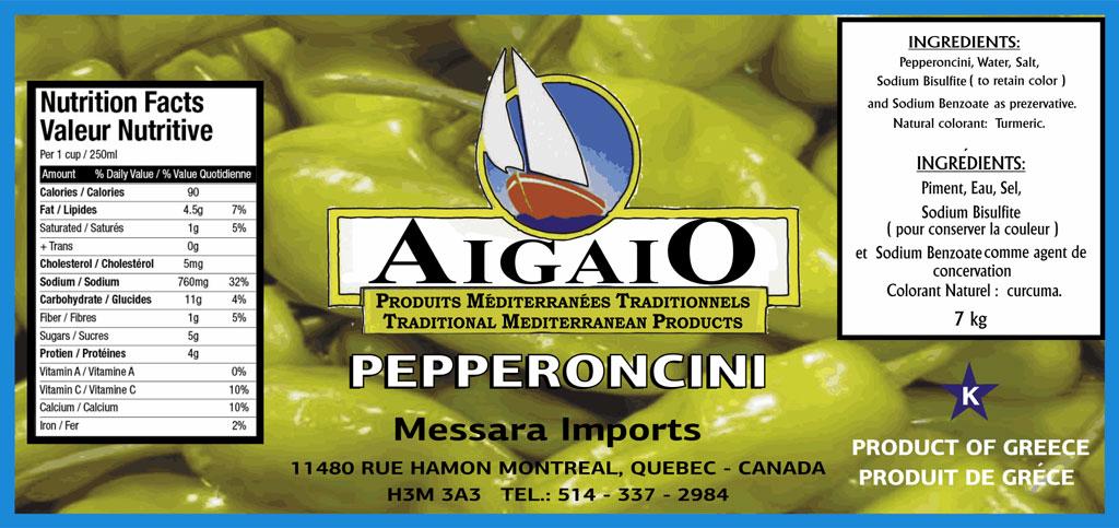 Ετικέτες Τροφίμων AIGAIO